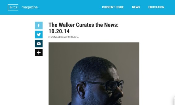 The Walker Curates the News: 10.20.14