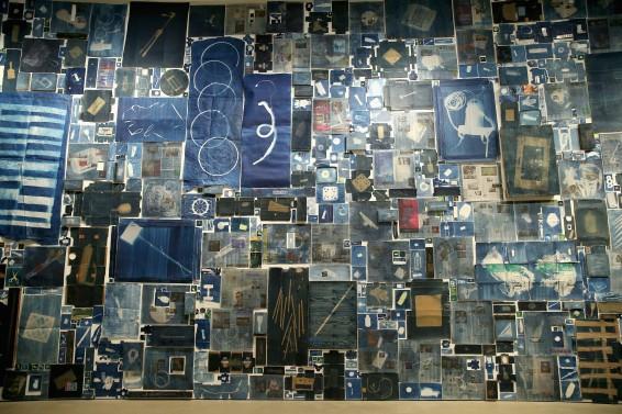 Walead Beshty Installation, plus cyanotype workshop