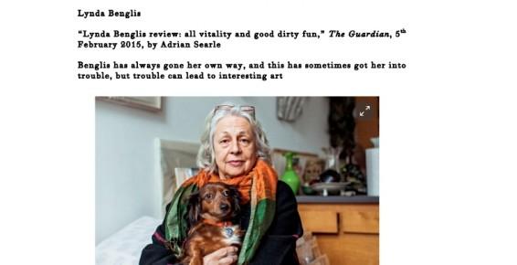 Lynda Benglis review: all vitality and good dirty fun