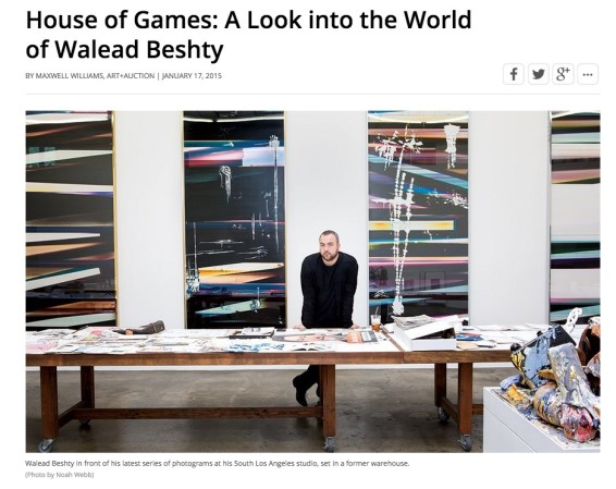 House of Games: A Look into the World of Walead Beshty