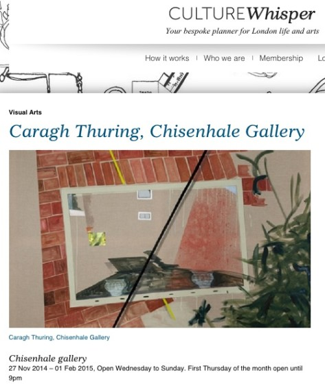 Caragh Thuring, Chisenhale Gallery