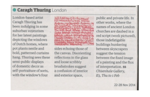 Caragh Thuring, London