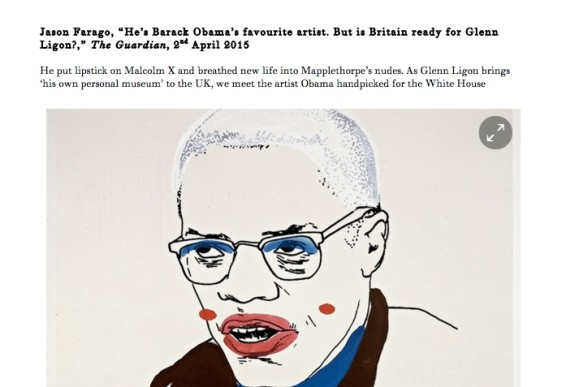 He's Barack Obama's favourite artist. But is Britain ready for Glenn Ligon?