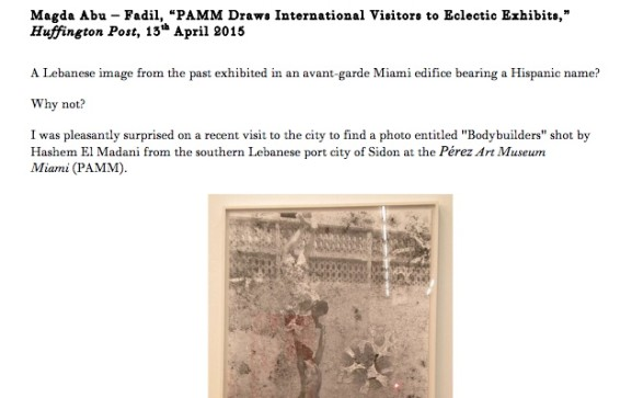 PAMM Draws International Visitors to Eclectic Exhibits