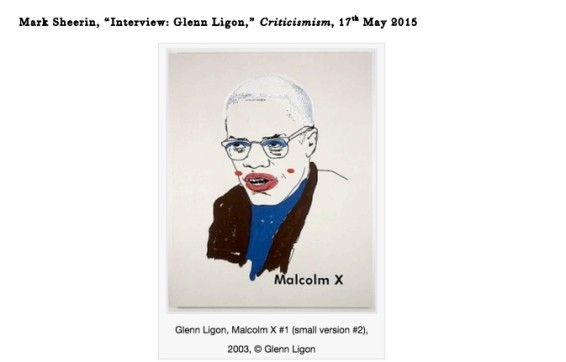 Interview: Glenn Ligon