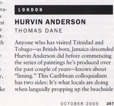 London: Hurvin Anderson