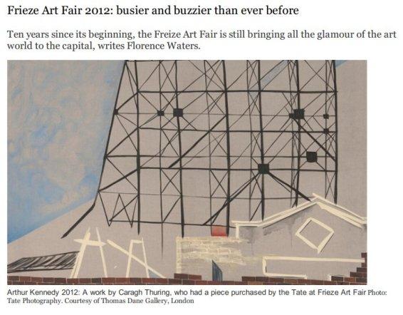 Frieze Art Fair 2012: Busier and buzzier than ever before