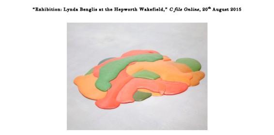 Exhibition: Lynda Benglis at the Hepworth Wakefield