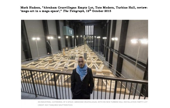 Abraham Cruzvillegas: Empty Lot, Tate Modern, Turbine Hall, review: 'mega-art in a mega-space'