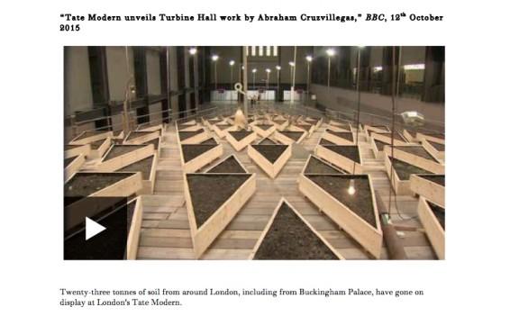 Tate Modern unveils Turbine Hall work by Abraham Cruzvillegas