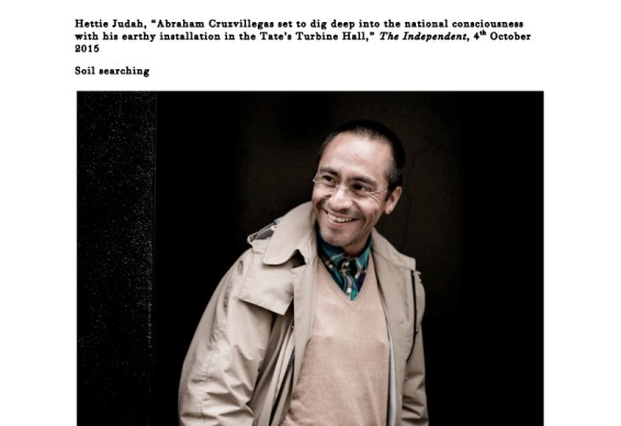 Abraham Cruzvillegas set to dig deep into the national consciousness with his earthy installation in the Tate's Turbine