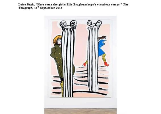 Here come the girls: Ella Kruglyanskaya's vivacious vamps