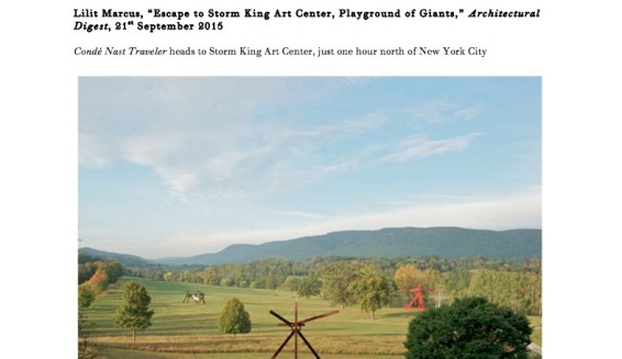 Escape to Storm King Art Center, Playground of Giants