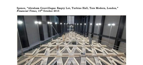 Abraham Cruzvillegas: Empty Lot, Turbine Hall, Tate Modern, London