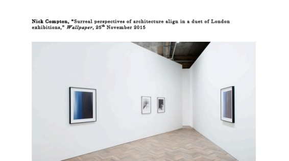 Surreal perspectives of architecture align in a duet of London exhibitions