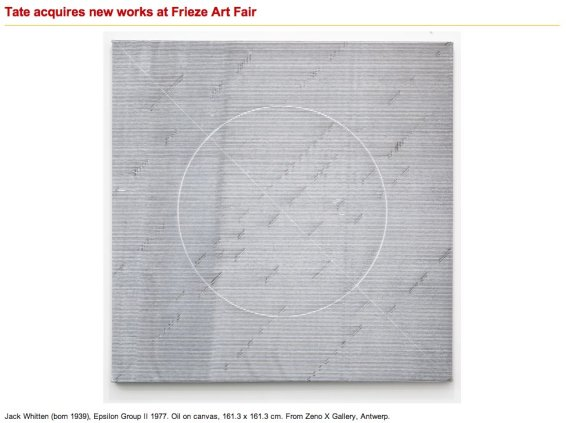 Tate acquires new works at Frieze Art Fair