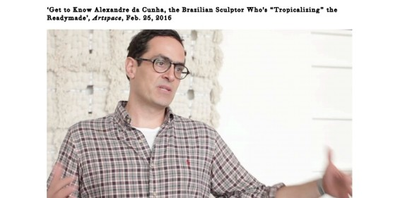 "Get to Know Alexandre da Cunha, the Brazilian Sculptor Who's ""Tropicalizing"" the Readymade"