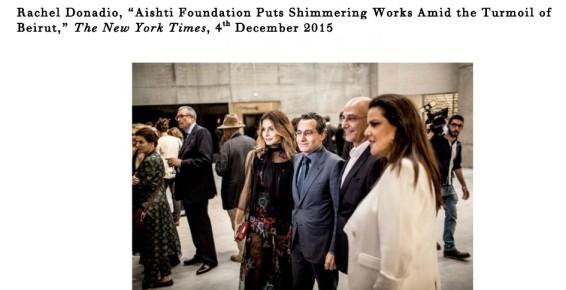 Aishti Foundation Puts Shimmering Works Amid the Turmoil of Beirut