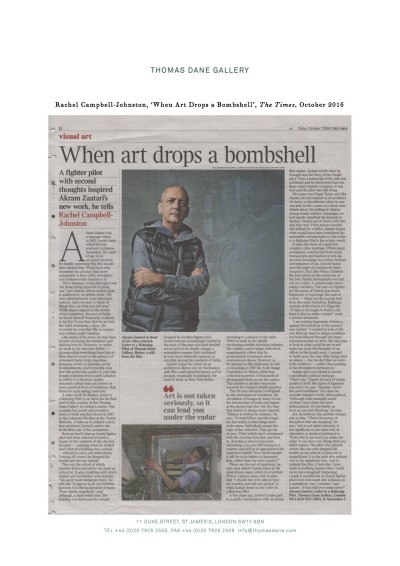 'When Art Drops a Bombshell'
