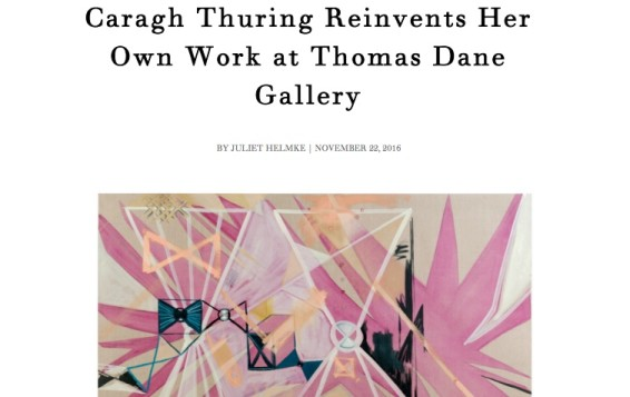 Caragh Thuring Reinvents Her Own Work at Thomas Dane Gallery