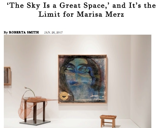 'The Sky Is a Great Space,' and It's the Limit for Marisa Merz