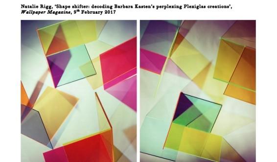 Shape shifter: decoding Barbara Kasten's perplexing Plexiglas creations