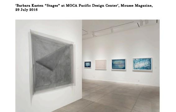 "Barbara Kasten ""Stages"" at MOCA Pacific Design Center"