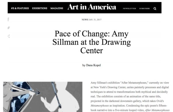 Pace of Change: Amy Sillman at The Drawing Center