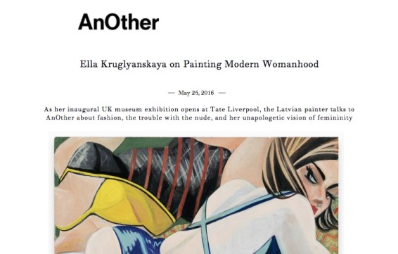 Ella Kruglyanskaya on Painting Modern Womanhood