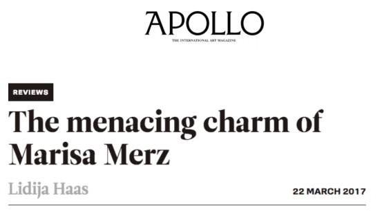 The menacing charm of Marisa Merz