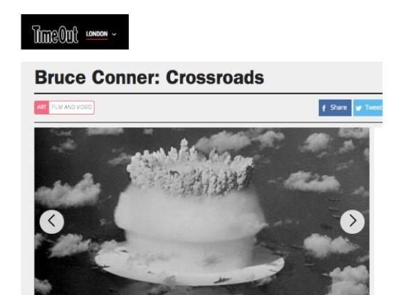 Bruce Conner: CROSSROADS