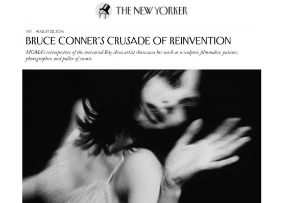Bruce Conner's Crusade of Reinvention