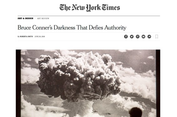 Bruce Conner's Darkness That Defies Authority