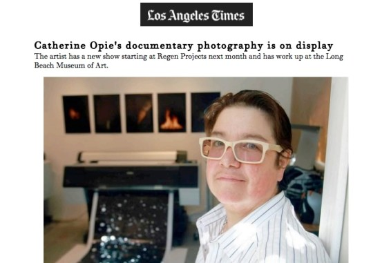 Catherine Opie's Documentary Photography is on Display