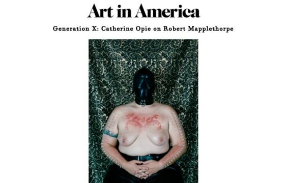 Generation X: Catherine Opie on Robert Mapplethorpe