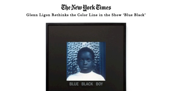 Glenn Ligon Rethinks the Color Line in the Show 'Blue Black'