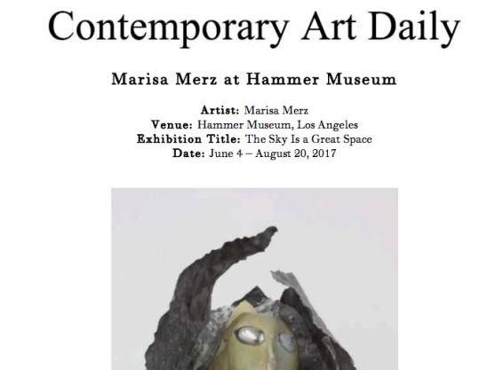 Marisa Merz at Hammer Museum