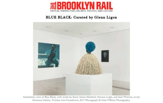 BLUE BLACK: Curated by Glenn Ligon