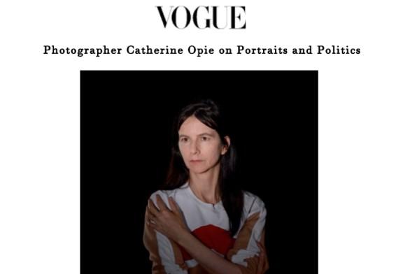 Photographer Catherine Opie on Portraits and Politics