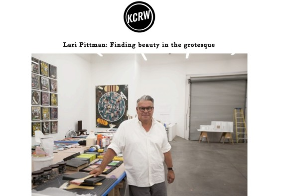 Lari Pittman: Finding beauty in the grotesque