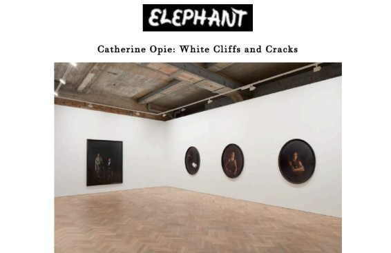 Catherine Opie: White Cliffs and Cracks