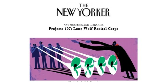 Projects 107: Lone Wolf Recital Corps