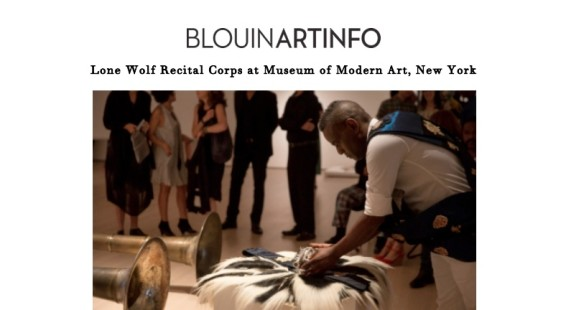 Lone Wolf Recital Corps at Museum of Modern Art, New York