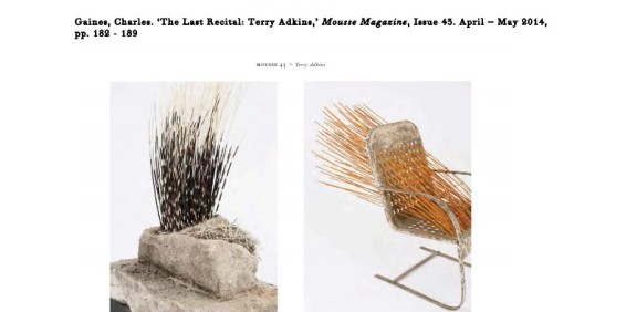 The Last Recital: Terry Adkins