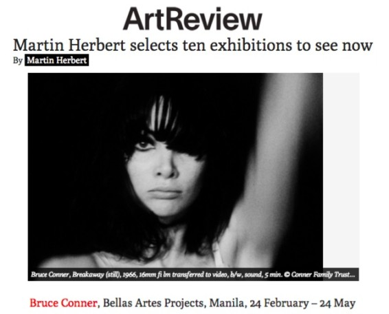 Martin Hebert selects ten exhibitions to see now