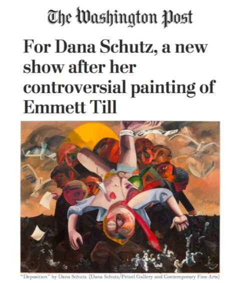 For Dana Schutz, a new show after her controversial painting of Emmett Till