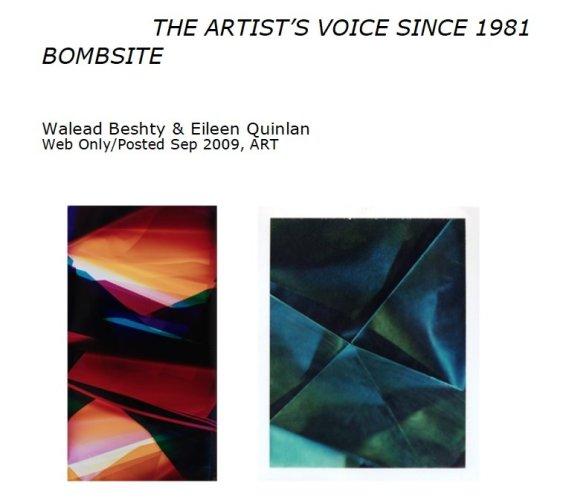 Walead Beshty & Eileen Quinlan