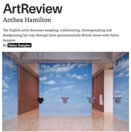Features: Anthea Hamilton