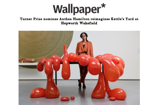 Turner Prize nominee Anthea Hamilton reimagines Kettle's Yard at Hepworth Wakefield