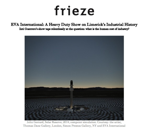 EVA International: A Heavy Duty Show on Limerick's Industrial History